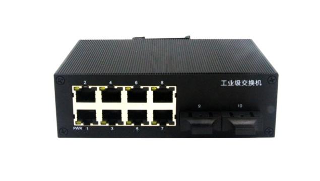 千兆2光8电工业级以太网交换机 (GL-7028G系列)